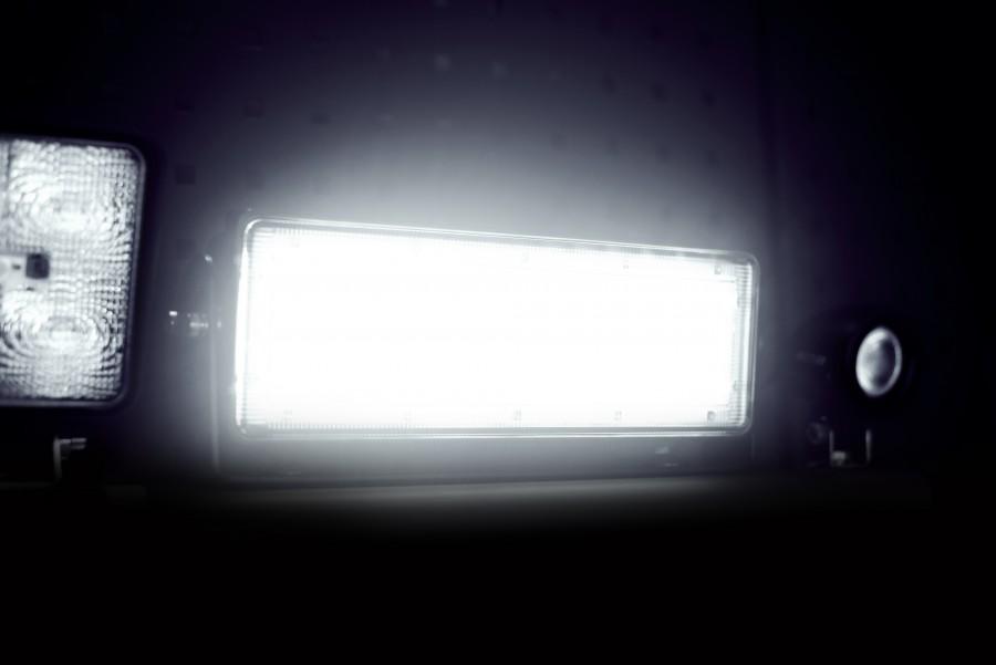 Werklicht, led, koplampen en werklampen