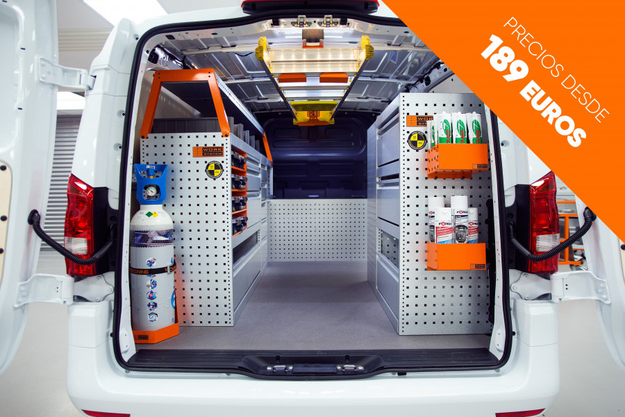 Hoogwaardige bedrijfswageninrichting tegen de beste prijs op de markt