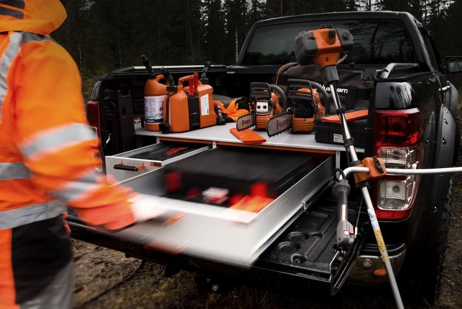 Met een dubbele laadvloer en een verhoogde vloer kunt u de ruimte in uw bedrijfswagen optimaal benutten.