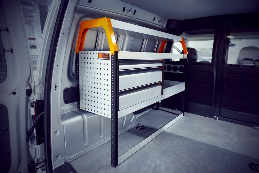 V-LS3 Bedrijfswageninrichting VW Caddy | Work System