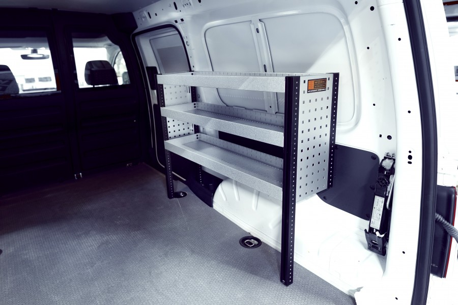 H-Bas Bedrijfswageninrichting VW Caddy | Work System