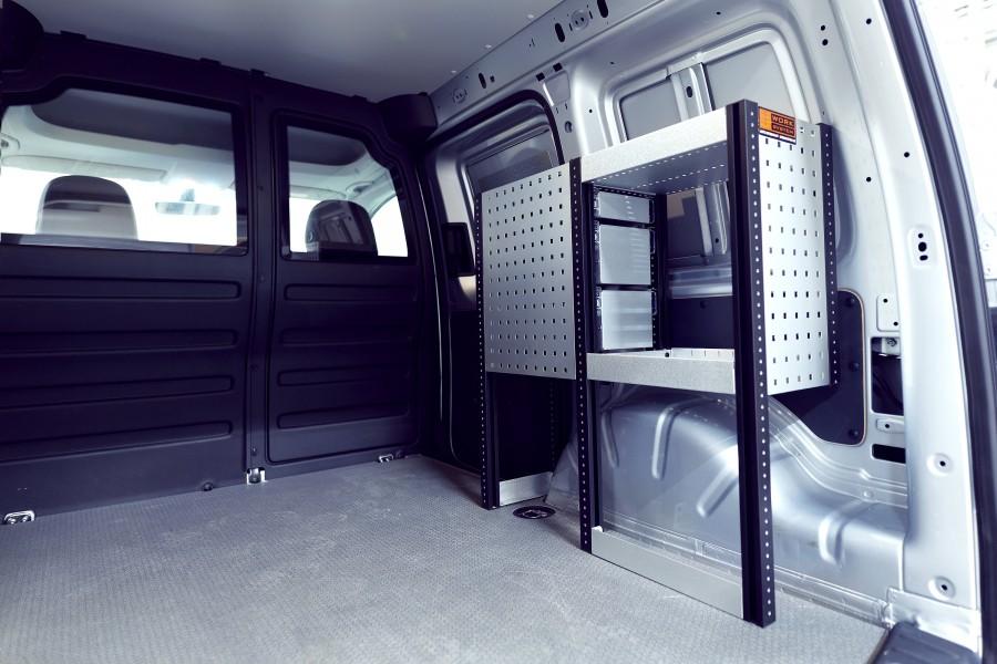 H-SDH3 Bedrijfswageninrichting VW Caddy | Work System