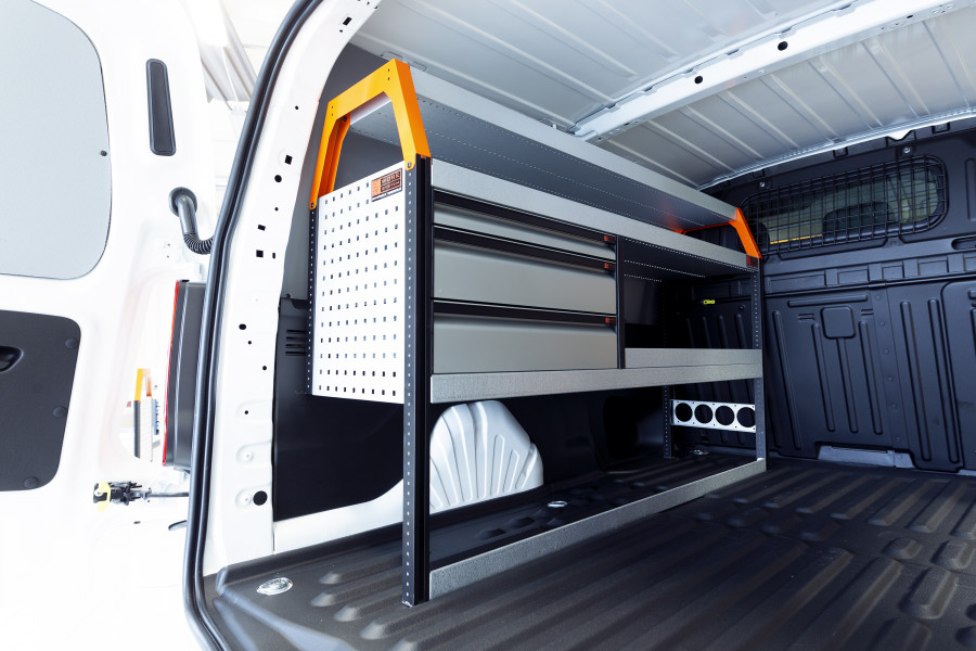 V-LS3 Bedrijfswageninrichting VW Caddy Maxi | Work System