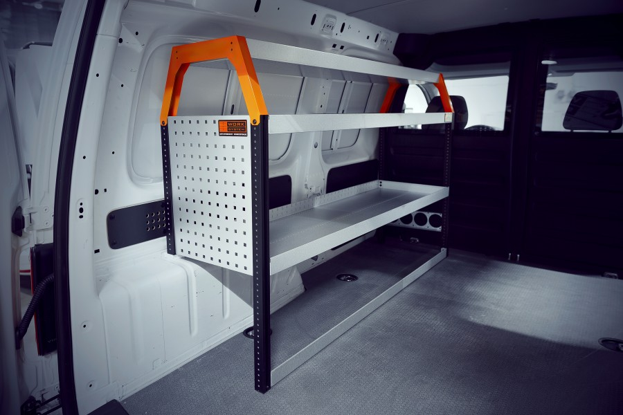 V-Basic Bedrijfswageninrichting Caddy Maxi   Work System