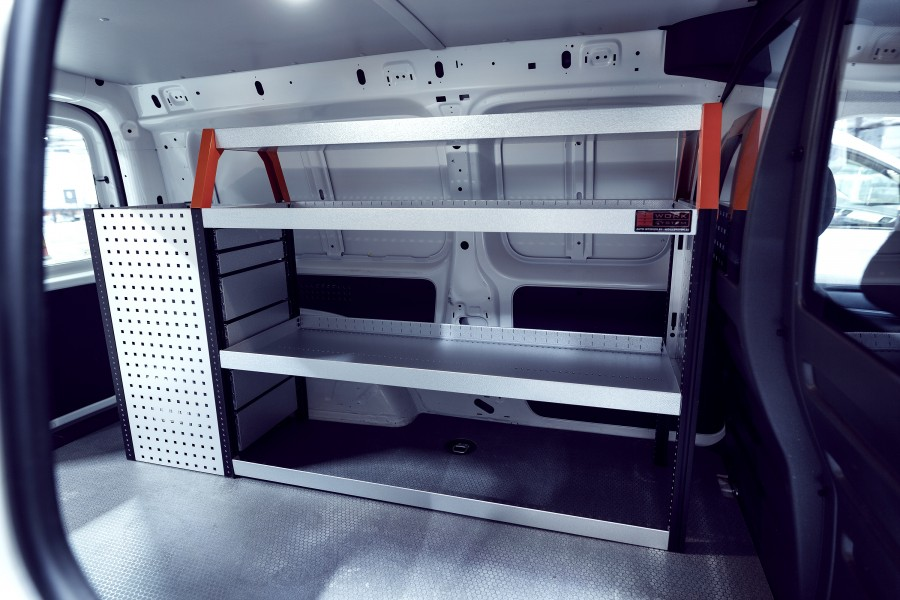 V-LB6 Bedrijfswageninrichting VW Caddy Maxi   Work System
