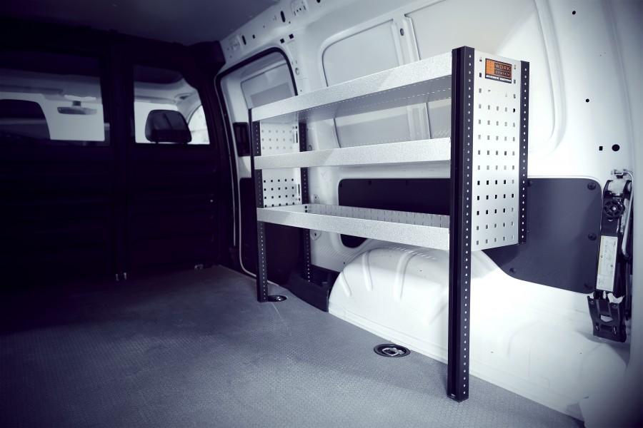 H-Bas Bedrijfswageninrichting VW Caddy Maxi | Work System