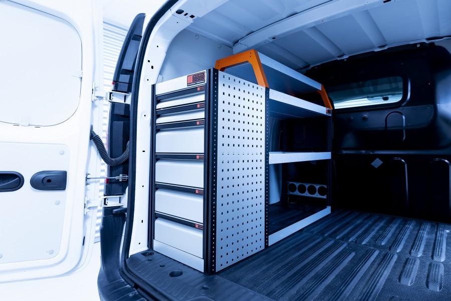 V-LB6 Bedrijfswageninrichting Citan Lang & Kangoo   Work System