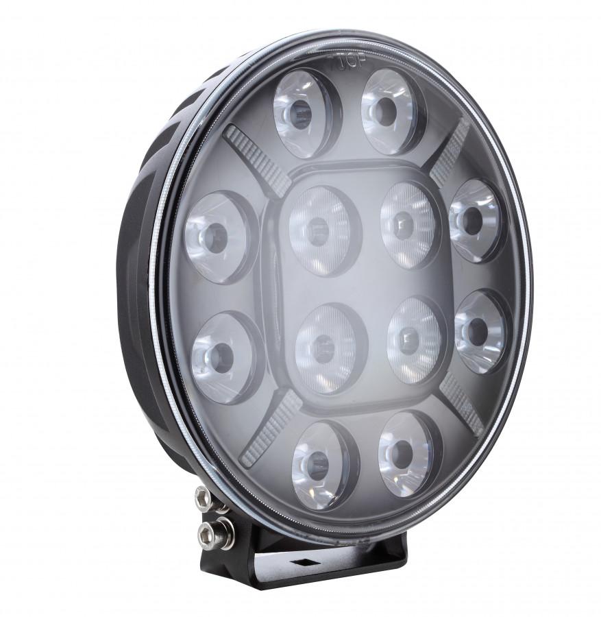 Extraljus LED (stor rund) 12000lm.